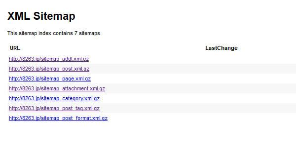 クロールの頻度アップを目指しGoogle XML Sitemapsを設定