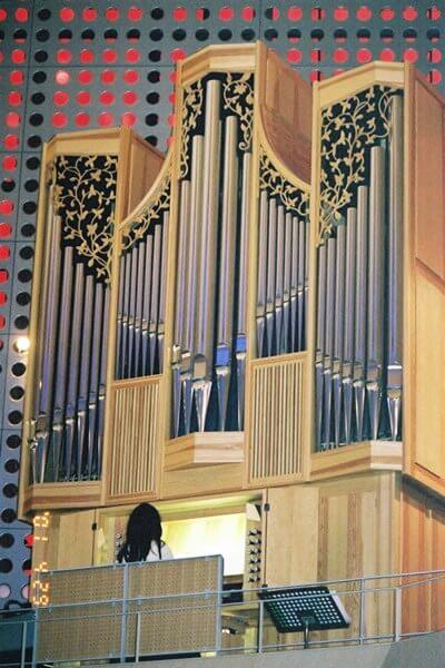 ザビエル教会のパイプオルガン