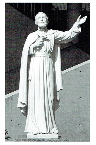 ザビエルさま立像